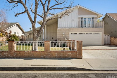 Valencia Single Family Home For Sale: 26848 Las Mananitas Drive