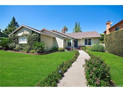 Encino Single Family Home Sold: 4601 Gloria Avenue