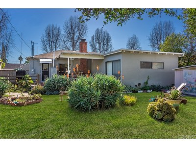 Valley Village Single Family Home For Sale: 12741 Califa Street