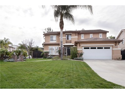 Simi Valley Single Family Home For Sale: 3342 Honey Pine Court
