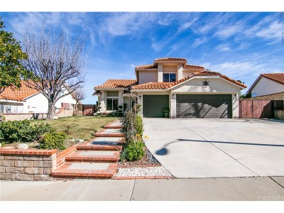 Stevenson Ranch Single Family Home For Sale: 24841 Sagecrest Circle