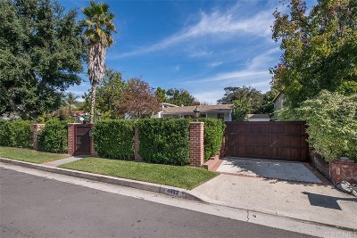 Valley Village Single Family Home For Sale: 4822 Ben Avenue