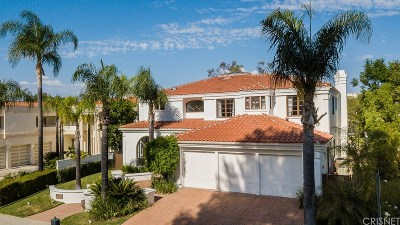 Calabasas Single Family Home For Sale: 3736 Avenida Callada