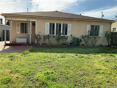 Burbank CA Single Family Home Active Under Contract: $765,000