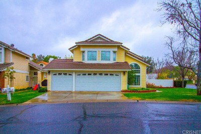 Canyon Country Single Family Home For Sale: 26804 Hummingbird Circle