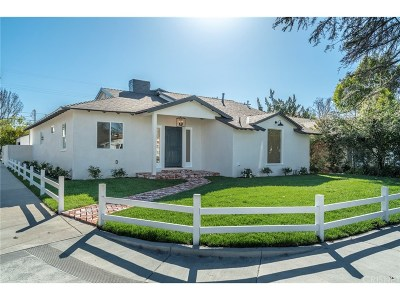 Sherman Oaks Single Family Home For Sale: 13150 Weddington Street