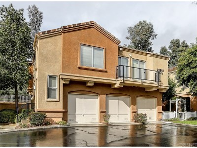 Valencia CA Condo/Townhouse For Sale: $380,000