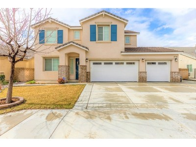 Lancaster Single Family Home For Sale: 44843 Mariposa Drive