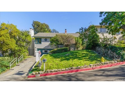 Los Angeles Single Family Home For Sale: 3352 Bennett Drive