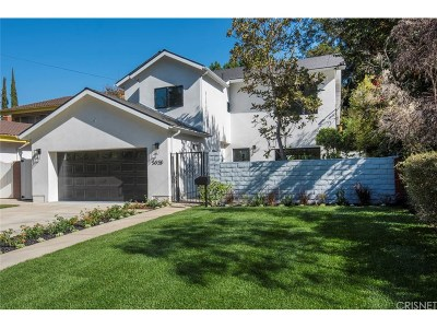 Valley Village Single Family Home Active Under Contract: 5028 Bluebell Avenue