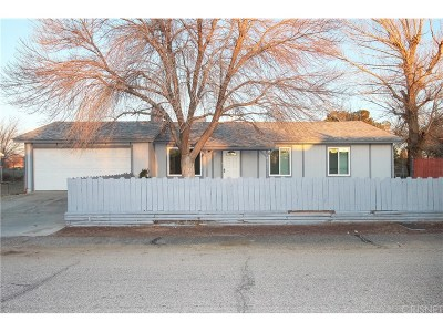 Lancaster Single Family Home For Sale: 40626 174th Street East