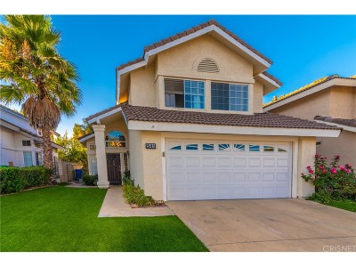 Simi Valley Single Family Home For Sale: 541 Fairfield Road
