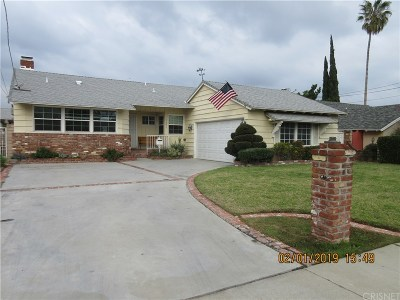 Northridge Single Family Home For Sale: 16857 Citronia Street