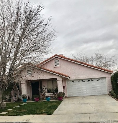 Palmdale Single Family Home For Sale: 3617 Acorde Avenue