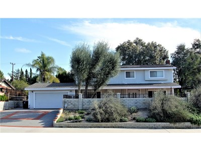 Granada Hills Single Family Home For Sale: 12240 Jolette Avenue