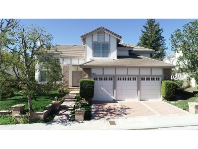 Woodland Hills Single Family Home Active Under Contract: 5949 County Oak Road