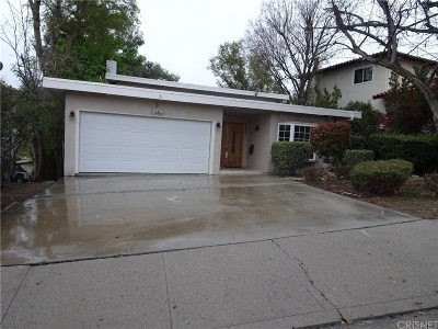 Woodland Hills Rental For Rent: 22266 Del Valle Street
