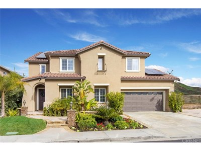 Saugus Single Family Home Active Under Contract: 22013 Superior Court