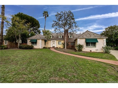 Valley Glen Single Family Home Active Under Contract: 6304 Allott Avenue