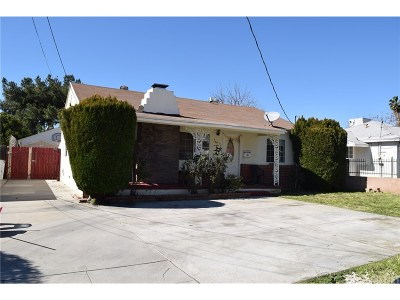 Reseda Single Family Home For Sale: 7435 Baird Avenue