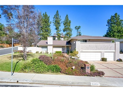 Tarzana Single Family Home For Sale: 19651 Anadale Drive