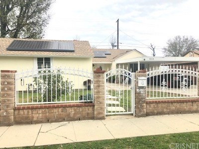 Northridge Single Family Home For Sale: 8118 Bianca Avenue