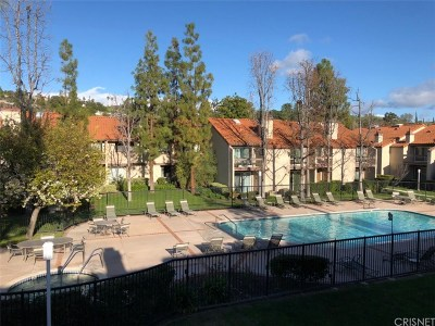 Calabasas Condo/Townhouse For Sale: 5622 Las Virgenes Road #8