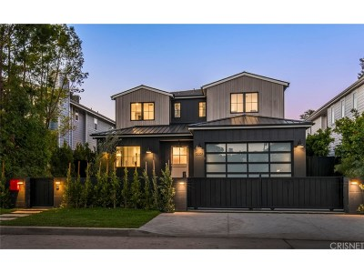 Studio City Single Family Home For Sale: 13051 Woodbridge Street