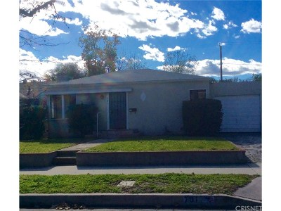 Burbank Single Family Home For Sale: 701 North Parish Place