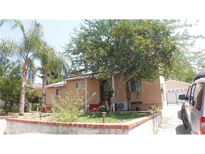 Tujunga Single Family Home For Sale: 10438 McClemont Avenue