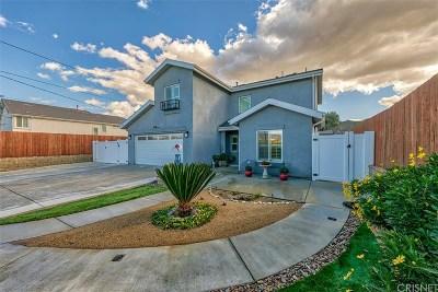 Castaic Single Family Home For Sale: 27708 Ferguson Drive