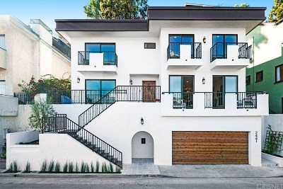 Los Angeles Single Family Home For Sale: 2441 Claremont Avenue
