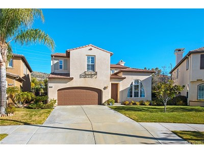 Los Angeles County Single Family Home Active Under Contract: 24433 Mira Vista Street