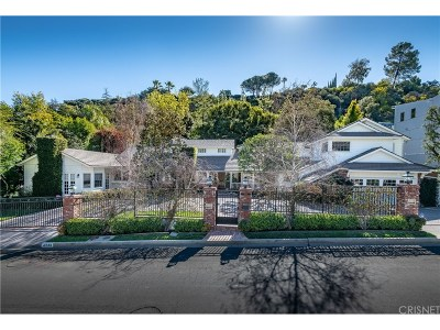 Encino Single Family Home For Sale: 4244 Valley Meadow Road