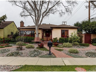 Burbank Single Family Home Active Under Contract: 313 West Elm Avenue