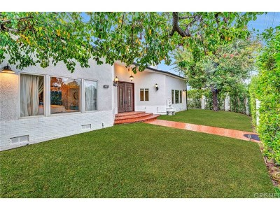 Sherman Oaks Single Family Home For Sale: 13260 Magnolia Boulevard