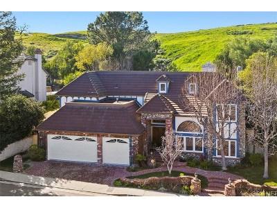 Woodland Hills Single Family Home For Sale: 6145 Paseo La Vista