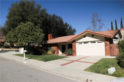 Agoura Hills Single Family Home For Sale: 28023 Via Amistosa