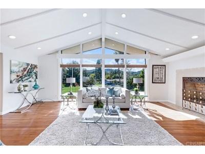 Encino Single Family Home Active Under Contract: 16221 Meadowridge Road