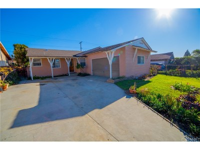 Arleta Single Family Home For Sale: 9212 Vena Avenue
