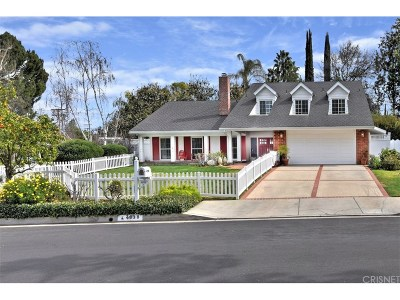 Woodland Hills Single Family Home For Sale: 4838 Quedo Place