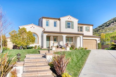 Stevenson Ranch Single Family Home For Sale: 24914 Old Creek Way