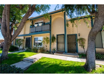 Los Angeles County Condo/Townhouse For Sale: 6824 Forbes Avenue