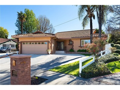 Woodland Hills Single Family Home Active Under Contract: 23740 Carard Street