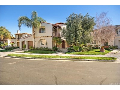 Los Angeles County Single Family Home Active Under Contract: 24705 Tiburon
