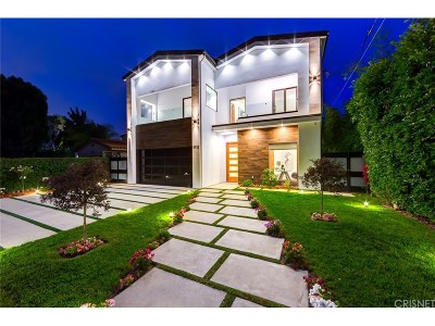 Studio City Single Family Home For Sale: 12732 Hortense Street