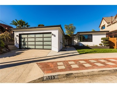 Silver Lake Single Family Home Active Under Contract: 1665 Angelus Avenue