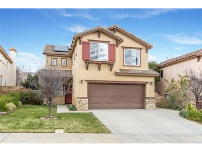 Castaic Single Family Home Active Under Contract: 32128 Big Oak Lane
