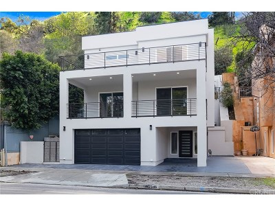 Studio City Single Family Home For Sale: 12346 Laurel Terrace Drive