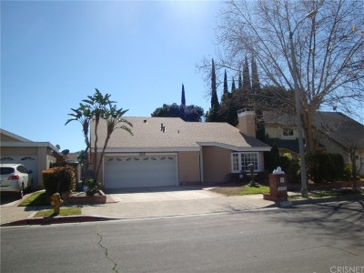 Chatsworth Single Family Home For Sale: 21910 Dupont Street